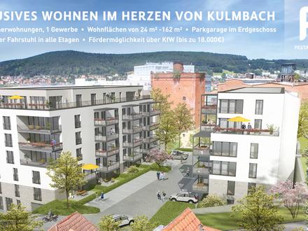 2-Zimmerwohnung im Neubau P9 in zentraler Innenstadtlage mit Terrasse
