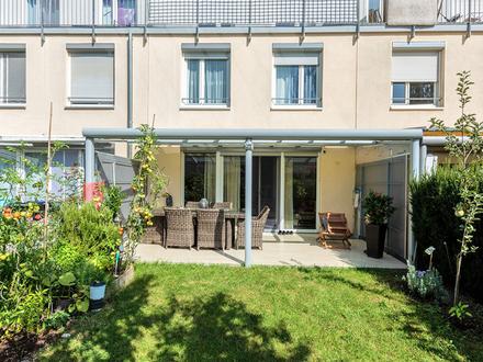 Ein neuwertiges Haus zum Wohlfühlen mit äußeren+inneren Werten! RH mit Garten,Terrasse+ Dachterrasse