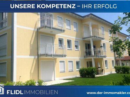 Exklusive 2 Zimmer Mietwohnung in Mehrfamilienhaus - 1.Stock m. Balkon Tiefgaragenstellplatz