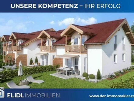 4 Doppelhaushälften in Reihenhausbauweise Bad Füssing / Ortsteil - Neubau