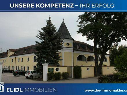 Bad Füssing Ortsteil: geräumige 1-Zimmerwohnung - Wohnen im Schloß Kirchham