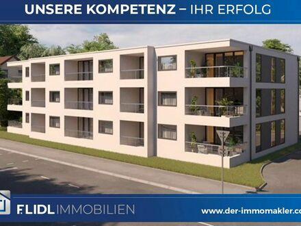 Traumhafte Neubau 1 Zimmer Eigentumswohnung Erdgeschoß in Straubing