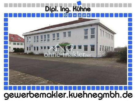 Prov.-frei: Verkehrsfähig: freistehenden Büro Verwaltungsgebäude in Gewerbepark