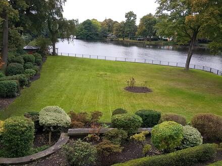 1Zi.möbliert direkt mit gr.Garten Süd-West an Alster