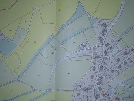 Grundstück mit Fundament unterkellert und Garten ca. 800m² + Nebengebaude Kreis Kulmbach/Bayreuth