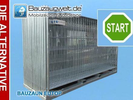 36x Bauzaun Mobilzaun Eutop Betonstein Verbinder Inkl. Lieferung
