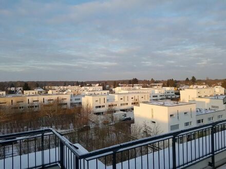 Zehlendorf John F. Kennedy School / American Phorms Campus penthouse letting 2 rooms 58 m², roof-top terrace, provision free