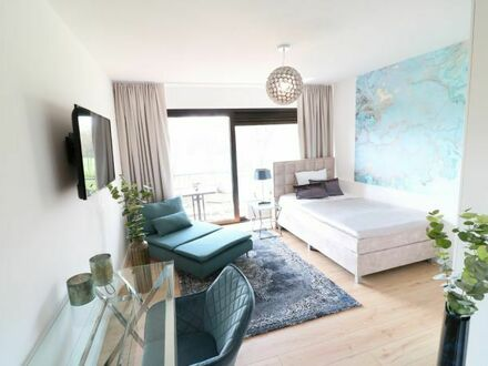 """Exclusive Living - One-Room Design Appartment Provence """"Typ 33""""mit Loggia im salinenparc Bad Westernkotten"""