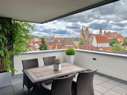 4,5-Zimmer Penthouse mit traumhaftem Stadtblick