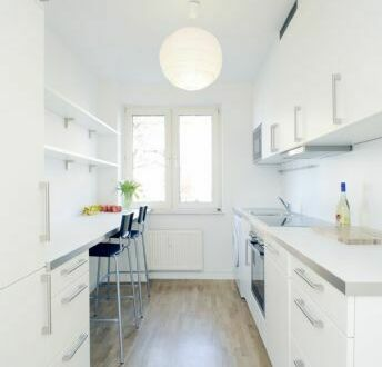 stylished full furnished 2-room-appartement vis-a-vis ECB! Totally renovated