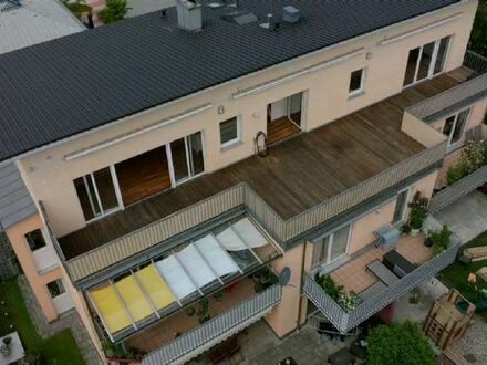 Penthouse Wohnung mit Bergblick in Bad Aibling