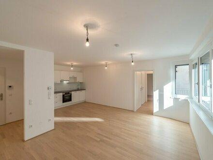 Six in the City: Premium 2-Zimmer Apartment mit Balkon! BESTLAGE direkt beim Haus des Meeres, NEUBAU-ERSTBEZUG, **HOFRUHELAGE**