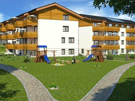 Perfekte 4 Zimmer Familienwohnung mit Garten