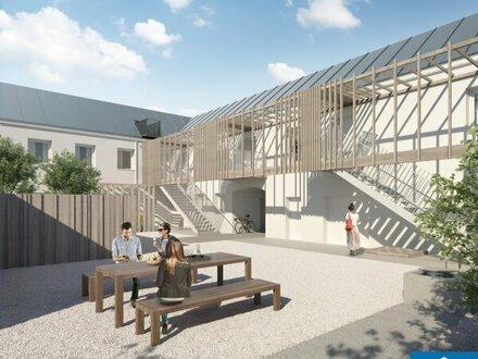 Familiäres Wohnen: Reihenhaus mit 4 Zimmern, Gartenanteil und Dachterrasse