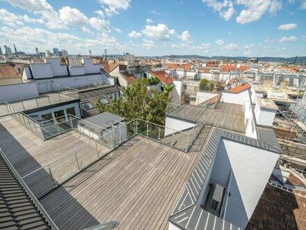 ++NEU++ Hochwertiger DG-Erstbezug: 40m² Dachterrasse in Citylage! **VIDEOBESICHTIGUNG**