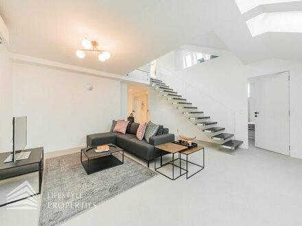 Erstrangiges 5-Zimmer Penthouse mit Terrasse Nähe Haus des Meeres