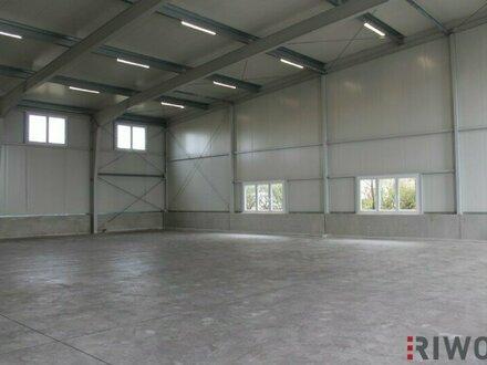 Moderne Hallen für Produktion/Werkstatt/Lager von 345m² bis 1.150m²