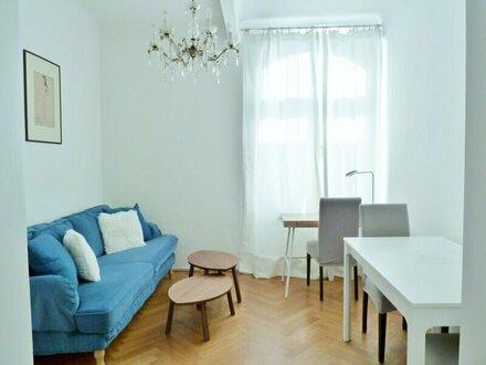 Charmante kleine 2-Zimmer-Altbauwohnung in Toplage von Salzburg/nächst Schloß Arenberg