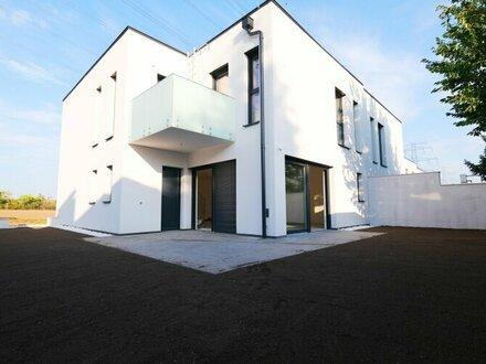 2 NEUBAU-Doppelhaushälften mit Garagen - 4 Zimmer + 51 m² Wohnküche + zwei Balkone / 10 Autominuten von Wien Oberlaa