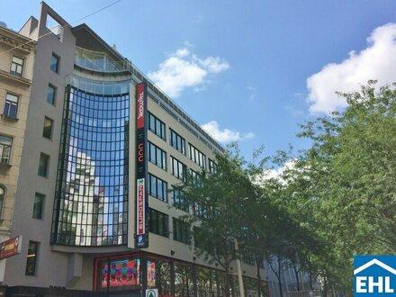 Modernes Bürogebäude im Herzen der Mariahilferstraße mit perfekter Infrastruktur!