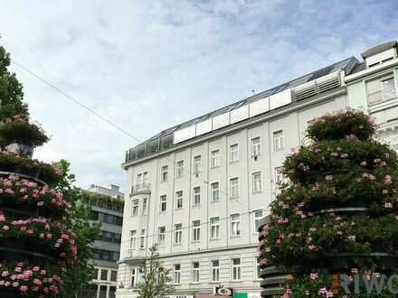 Terrassenliebhaber aufgepasst! - hier geht´s nach oben | 3-4 Zimmer Dachgeschosswohnung mit großzügigen Innenhofterrassen