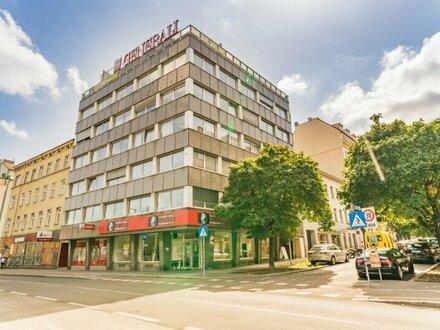 helle , grosszügige Bürofläche am Reumannplatz mit 2 Terrassen ZUM MITGESTALTEN zu vermieten!