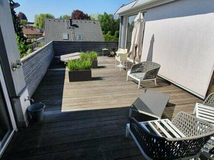 Penthouse mit 162 m2 + 41 m2 Terrasse in Alt-Liefering - Sonnenschein und Lebenslust inklusive