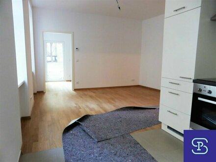 Erstbezug: 38m² Altbau mit Garten und Einbauküche - 1180 Wien