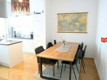 Helle, südseitige 3-Zimmerwohnung in Top-Altbau
