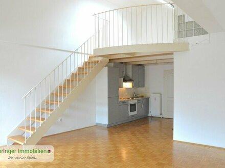 Wohnen mit Stil! Extravagantes 2-Zimmer-Studio mit Galerie und Balkon