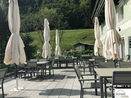Gut eingeführtes Restaurant im Salzkammergut