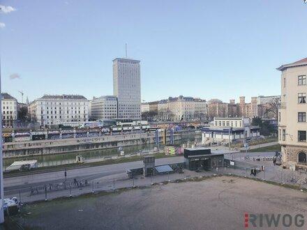 ++WUNDERSCHÖNE++ 2 Zimmerwohnung mit Blick auf den Donaukanal!!!