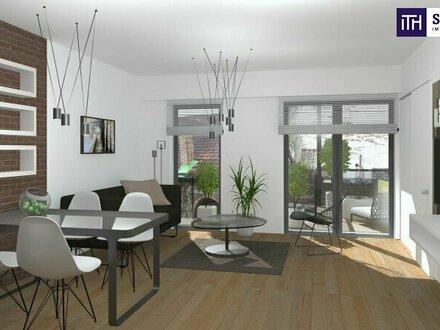Perfekte Kleinwohnung im Dachgeschoss! Ideale Raumaufteilung + Tolle Infrastruktur + Hofseitige Terrasse + Hochwertige Ausstattung!