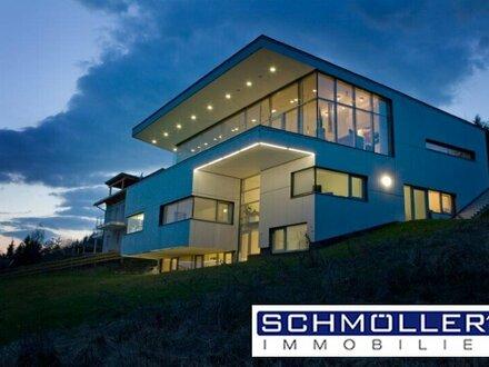 Puristisches Wohnen über den Dächern von Velden