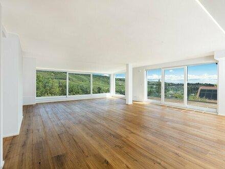 Penthouse mit Weitblick ins Grüne! 4-Zimmer-Erstbezug mit vier Terrassen