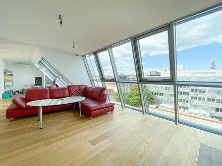 Geräumige Dachgeschoss Maisonette mit 2 Terrassen in zentraler Lage! 136 m2 Nutzfläche!