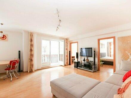 Möblierte Familienwohnung mit Balkon in toller Lage!