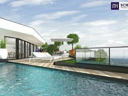 ITH: FANTASTISCHES PENTHOUSE! Erstbezug mit 4 Zimmer + POOL + Panorama-Dachterrasse On Top! Provisionsfrei für den Käufer!