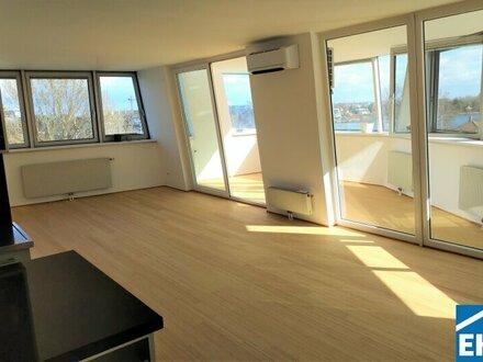 Exklusive 4 Zimmer-Wohnung nahe dem Donaupark