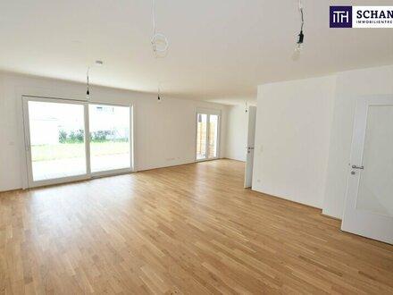 4-Zimmer Neubauwohnung mit großem Garten in ruhiger Lage mit perfekter Raumaufteilung!