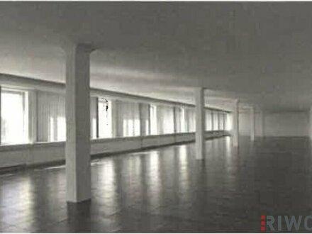 Helle Büroflächen mit Ausstellungsmöglichkeit und Parkplätzen!