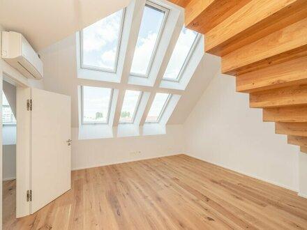 // -10% PROVISIONSRABATT // Hochwertige 3,5-Zimmer DG-Maisonette, tolle Aufteilung! Dachterrasse mit Weitblick ***Videobesichtigung***