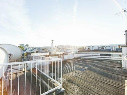 TOP sanierte DG-Wohnung mit Terrasse und traumhaften WEITBLICK zu vermieten!