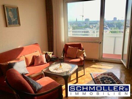 Ihr neues Zuhause mit Ausblick! Vollmöblierte Wohnung mit 2 Loggias und Garage