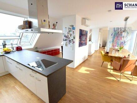 TRAUMWOHNUNG!! Absoluter Wohntraum auf zwei Etagen mit Balkon und Terrasse!
