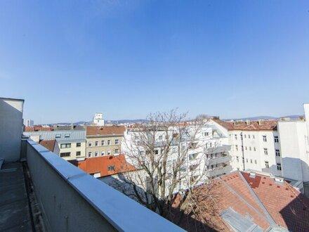 Generalsanierte 2-Zimmer im DG mit Terrasse und traumhaften Blick in 1170 Wien - ZU VERKAUFEN!! Ideal für Anleger!