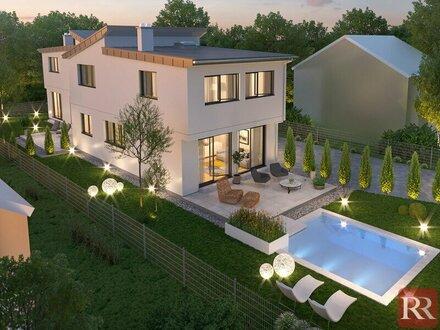 Toplage Aspern - Moderne Häuser Provisionsfreier Erstbezug