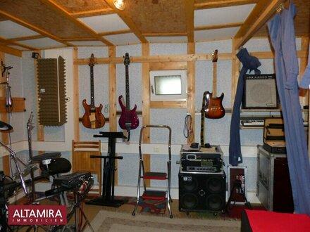 Tonstudio 130 db Schallschutz - musizieren rund um die Uhr möglich!