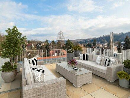 ERSTBEZUG - Moderne Dachterrassenwohnung mit herrlichem Ausblick und großer Terrasse - MEIN WIENERWALDBLICK