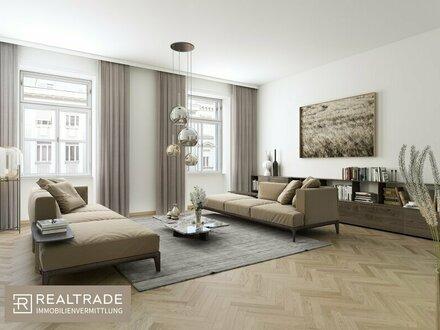 NEW PRESTIGE - Top aufgeteilte 4-Zimmer Wohnung mit Balkon und Terrasse am unteren Belvedere (Exklusiver Erstbezug)